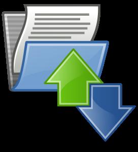 Data import transfer